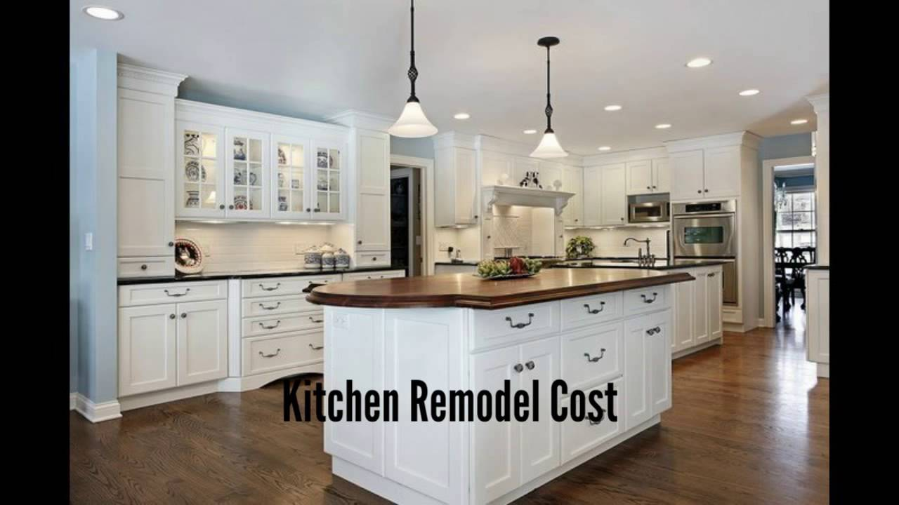 how much does a kitchen remodeling project cost ekb