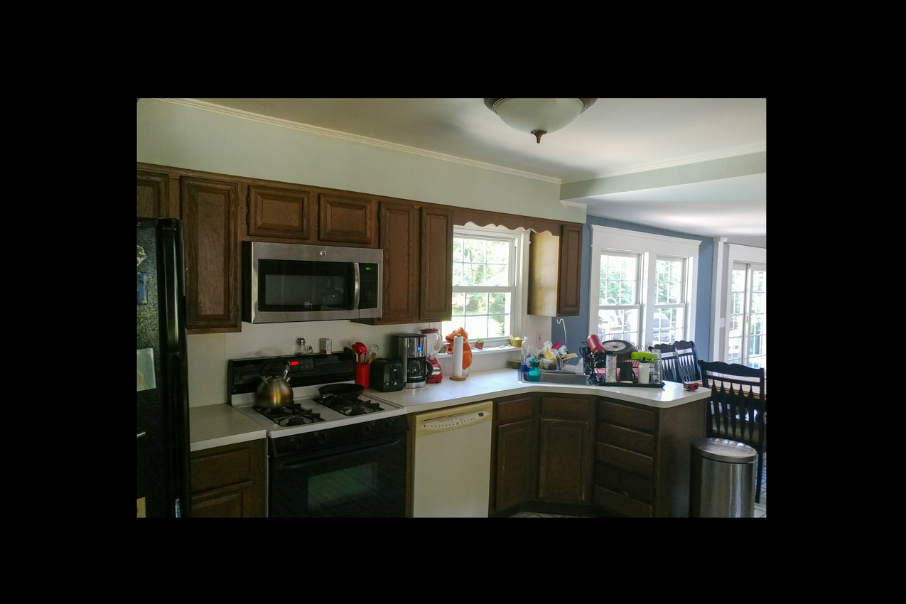 New Windsor Gray Kitchen Before